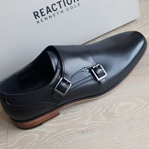 Kenneth Cole Reaction Guy Monk Strap oxfords blk